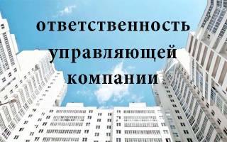 Сведения из законодательства: границы ответственности управляющей компании по ЖКХ и ее страхование