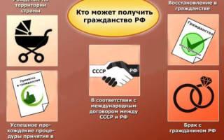 Какие существуют основания для приобретения гражданства РФ: требования, документы и особые условия